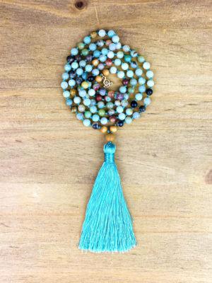 presentation bijoux en amazonite
