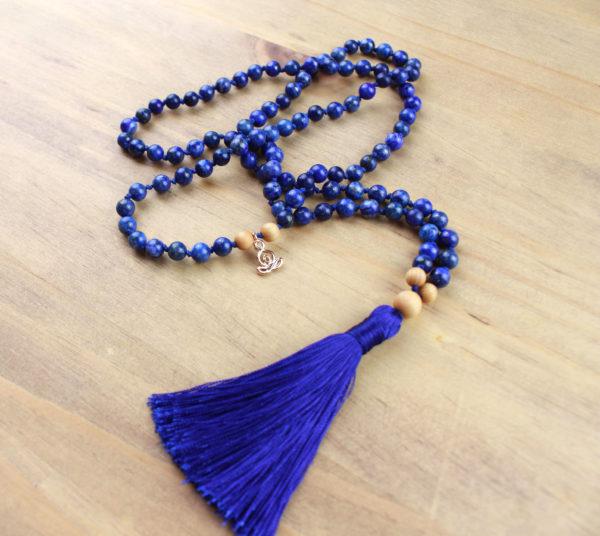 bijou mala lapis lazuli